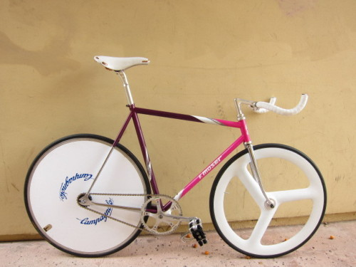 90's Moser Pursuit Track Bike by Dustin via Pedal Room