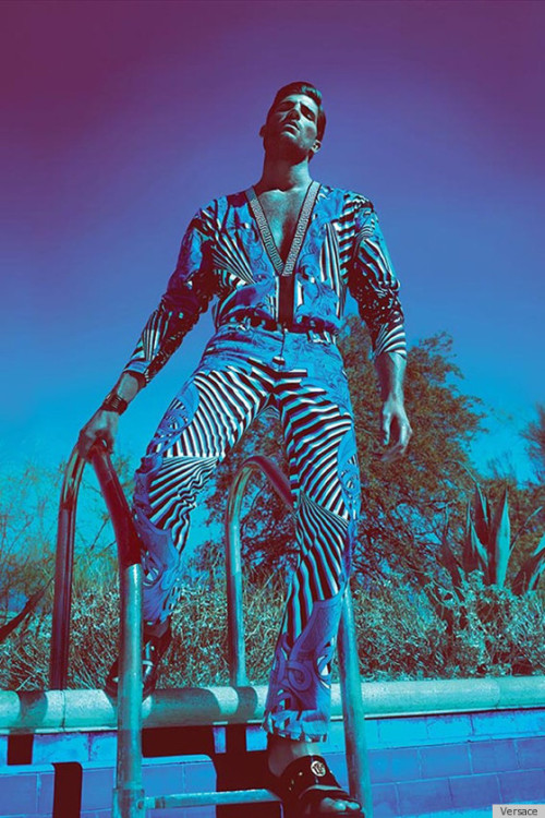 Versace Spring 2012 ad for men.