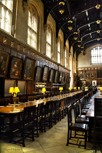 thehandbookauthority:  Christchurch Hall dining room (1529) at Oxford University   Christchurch Hall dining room (1529) at Oxford University