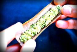 Blunt full of dat good