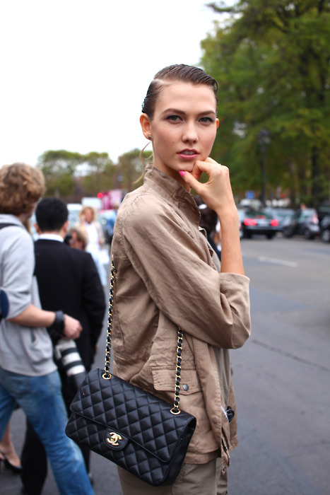 femme-belle:  Karlie after Chanel