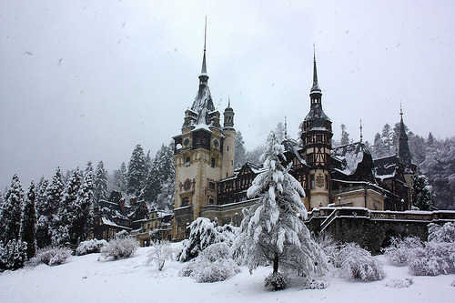 -cityoflove:  Sinaia, Romania via Mr Jack Skellington