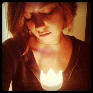 *Luminary Love* photography, self portrait, iPhone, Instagram by R. Sherinian