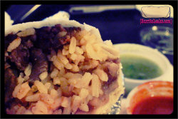 "Carne Asada ""Super"" Burrito from El Charting in Roseville CA #Burrito #BurritoLeaksDotCom (Taken with picplz.)"