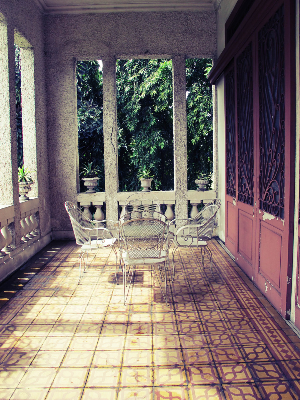 Sitting Area outside the house in Sariaya, Quezon