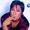 An icon I made featuring Zoe Wanamaker. I adore this woman [read: HUGE CRUSH]. Beyond sexy with a cigarette in hand..phwoar!
