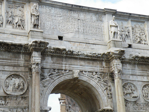 infinite-contradictions:  Arch of Constantine by Ka.Fai. on Flickr.