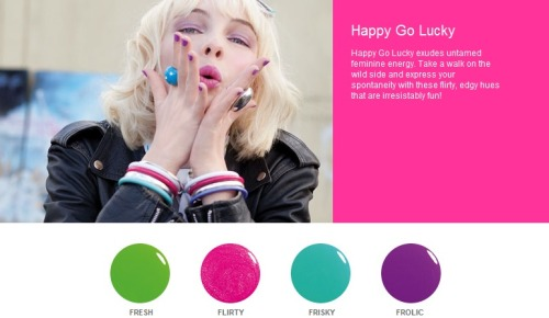 'HAPPY-GO-LUCKY' Series - ORLY Nail Polish   (SPREE CLOSES EVERY 14th and 29th of the MONTH) Your ORLY Nail Polish will reach you within 3 weeks AFTER SPREE CLOSES;  Buy one bottle @ only SGD 10.90 10.50!! * Price for some special products may differ BUT are available upon request *  ~ ONE FREE GIFT with EVERY PURCHASE;  ♥ FOC meetup at YEW TEE & CHOA CHU KANG MRT.CLEMENTI MRT & in NUS *For School Days ONLY*(Other locations subjected to convenience)♥ NORMAL postage @ SGD 1.00, subsequent items @ $0.80 each♥ REGISTERED postage @ SGD 3.00, subsequent items @ $0.80 each   ♥ A.M. Mail (Letterbox Delivery) @ SGD 3.00, MAX. weight of 300grams♥ A.M. Mail (Doorstep Delivery) @ SGD 4.20, MAX. weight of 300grams  ~ Hurry & start shopping the FULL RANGE @ http://www.ORLYbeauty.com[:  Please kindly place ALL ORDERS via the ' ORLY spree ' form ;
