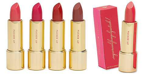 Kate Spade also has some lipsticks for a little cheaper than Burberry. They are also packaged quite adorably. Presentation is key everyone.