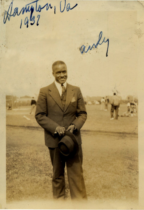 Andy Hampton University Hampton, VA, 1937 ©WaheedPhotoArchive, 2011