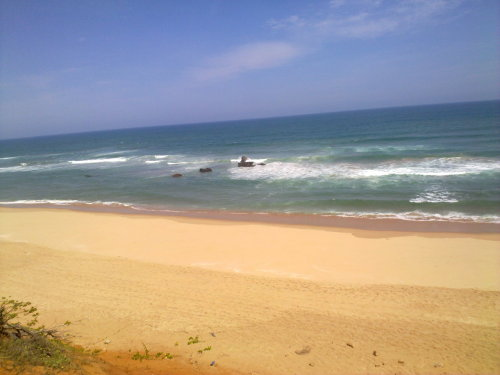 Zavora Beach in my home country of Mozambique