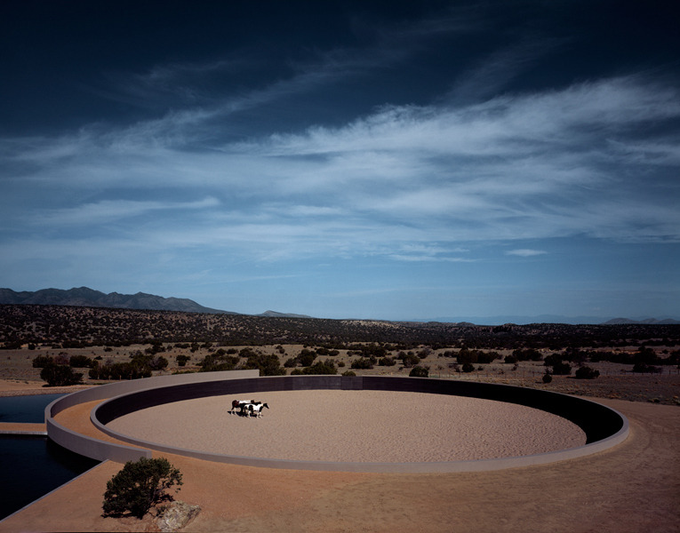 simplypi:  Tom Ford's New Mexico Ranch, Tadao Ando