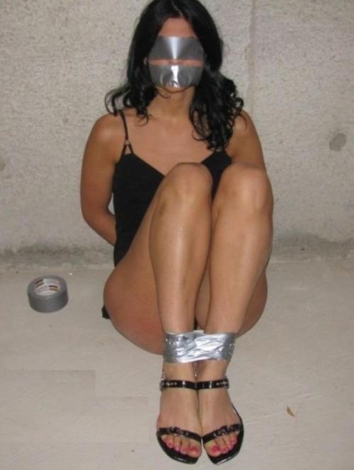 Message, Naked girl duct tape milf bondage have hit