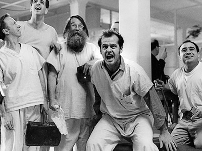 One Flew Over the Cuckoo's Nest was the second film to win the grand slam of the Oscars: Best Picture, Best Director (Milos Forman), Best Adapted Screenplay, Best Actor and Best Actress. The first was 'It Happened One Night', four decades earlier.