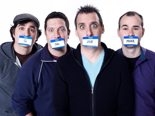 Everyone needs to watch Impractical Jokers. It is HILARIOUS. So happy for Q.