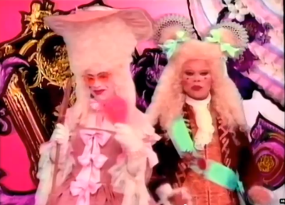 Elton John & Rupaul from her 1993 Christmas special. You're welcome for me completing your life and all.