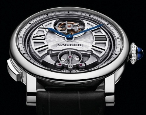 In just four years since the creation of Cartier Fine Watchmaking, they are now the manufacture of a true in-house minute repeater, with flying tourbillon. BOOM. For the full story, and live video of the minute repeater in action, click here.