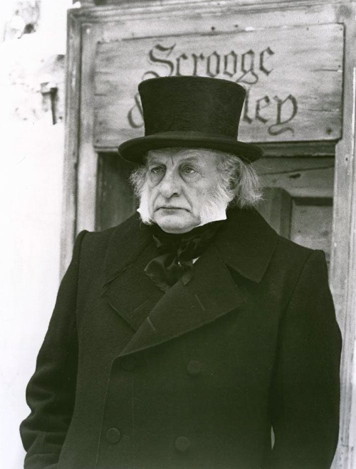 "imalwaysallright:  The best Ebenezer Scrooge in the best, most faithful adaptation of my favorite book: George C. Scott in the 1984 film version of ""A Christmas Carol"" by Charles Dickens."