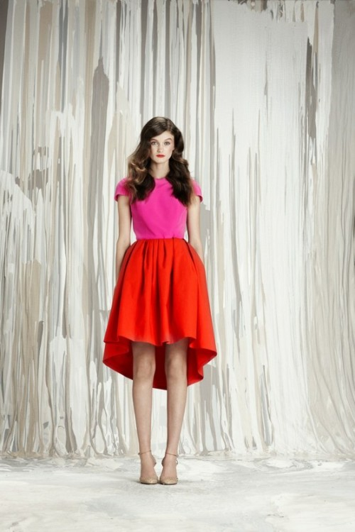 theglitterguide:  (via Fashion Collections / Honor Pre-Fall2012)