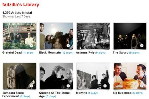 my last.fm for the week of 11/10/11 - 11/16/11