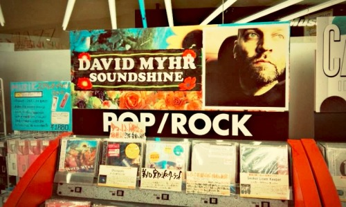 David Myhr's album Soundshine is out now in Japan, ahead of the European release in 2012.