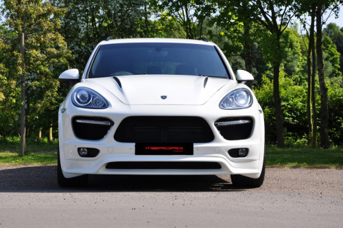 White 4 Door Merdad Cayenne