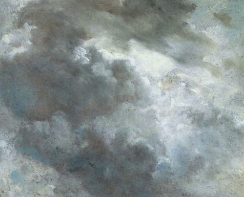 toomuchart:  John Constable, Cloud Study, 1821.