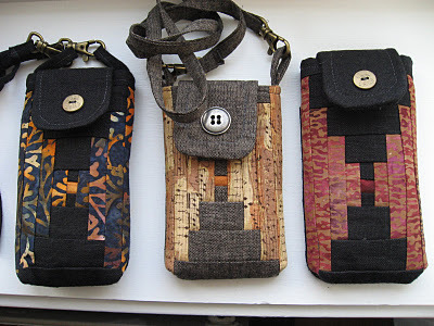 a nice patchwork cell phone case