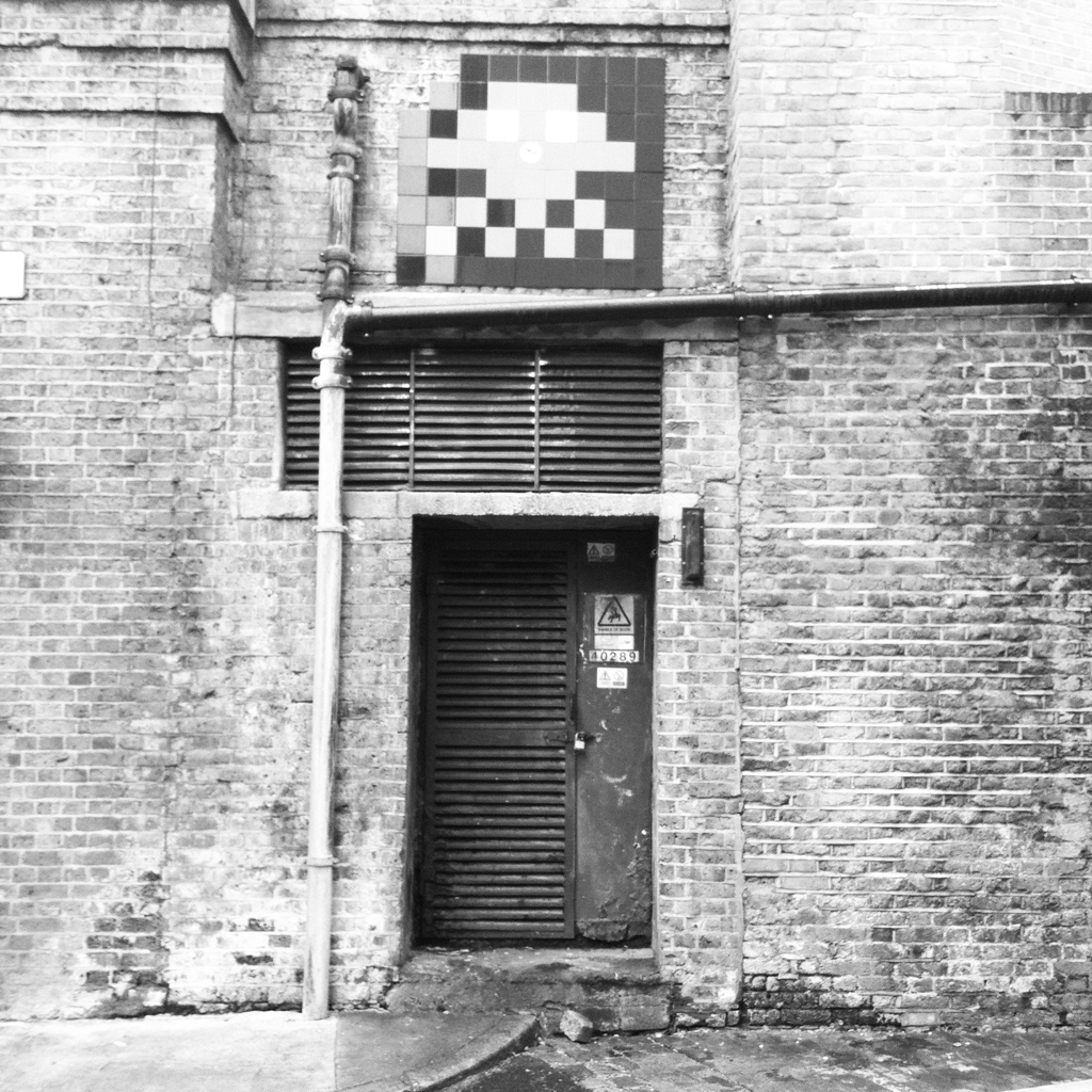 Space Invader, East London