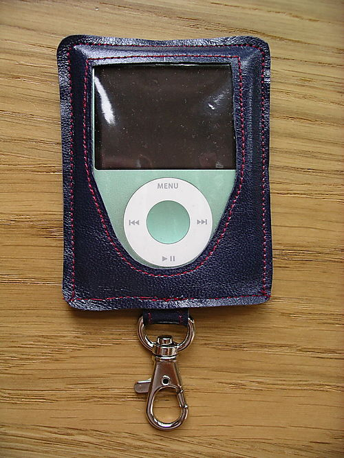how to make a leather ipod case