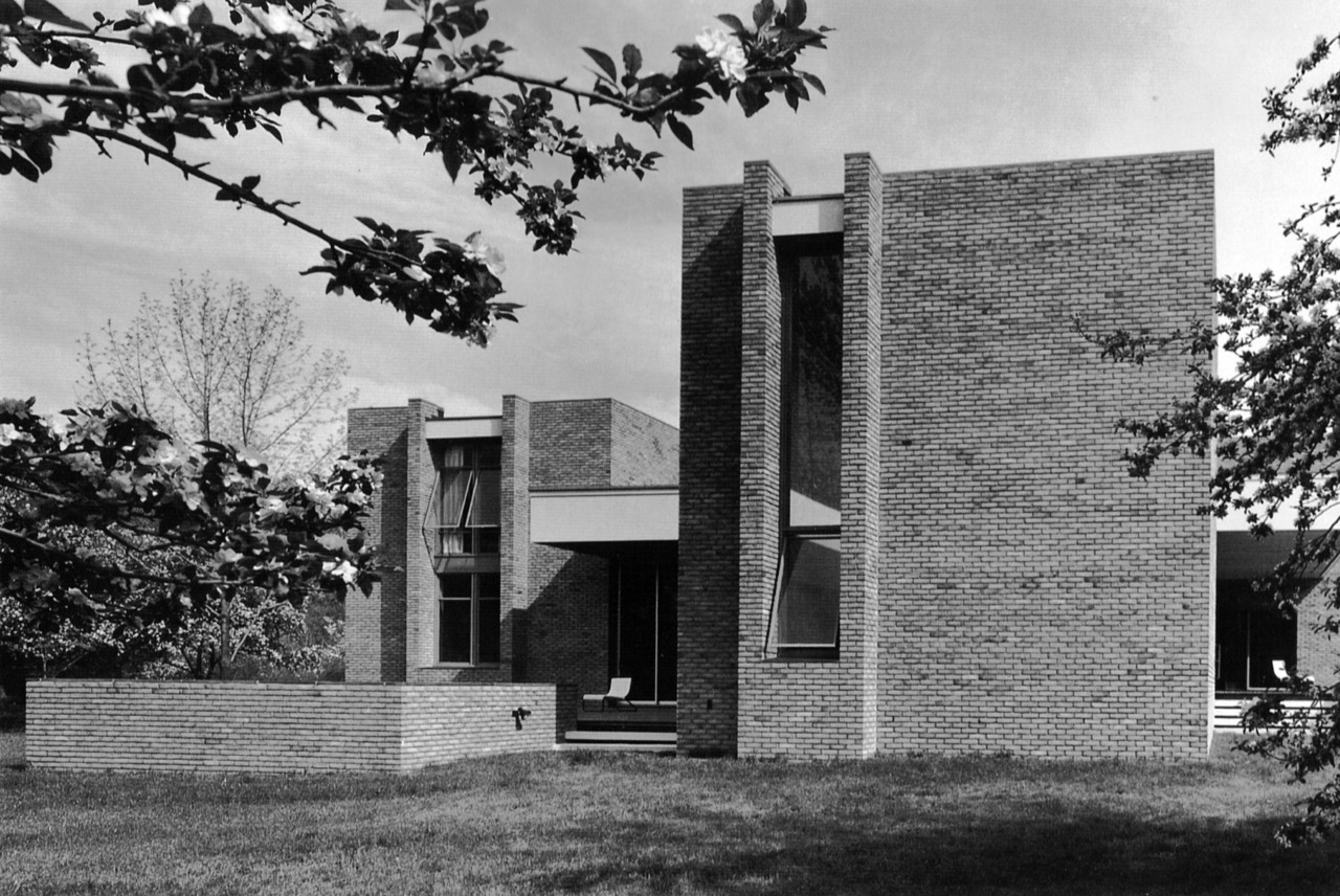Dana House, New Canaan, Connecticut, 1963 (Ulrich Franzen)