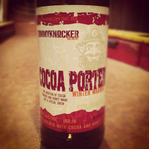 Tommyknocker Brewery Coco Porter Winter Warmer American Porter [ABV 5.70%]  Score: B For not being a big beer, this is a very good coco beer.