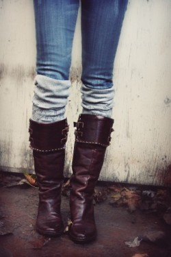 leg warmers/boot socks