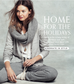 """Home for the Holidays"" J.Crew Hibernate in Style? Don't mind if I do."