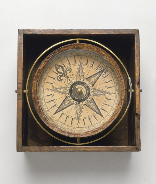 adventures-of-the-blackgang:  Mariner's compass circa 1750 National Maritime Museum, Greenwich, London