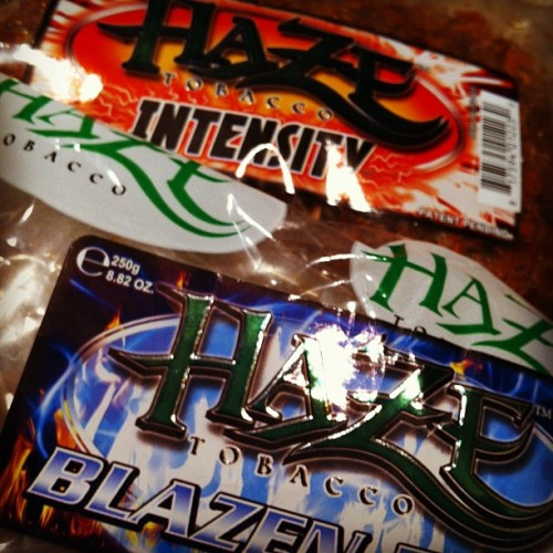 New Flavors from Web Design Client, Haze Tobacco.