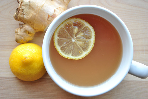 foodopia:  lemon ginger tea: recipe here