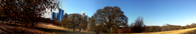 Panoramic of Piedmont Park