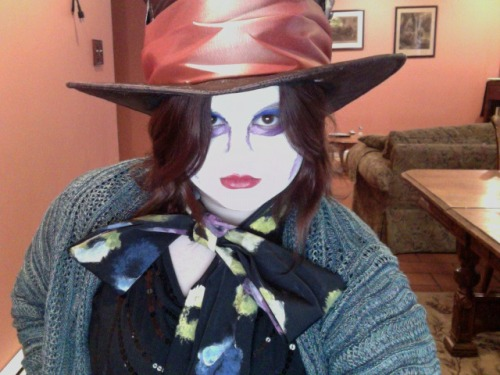 Just me as Mad Hatter