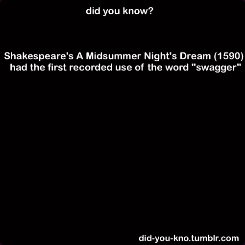 did-you-kno:  Source  Shakespeare had/has more swag than everyone… He should have signed his name $hakespeare.