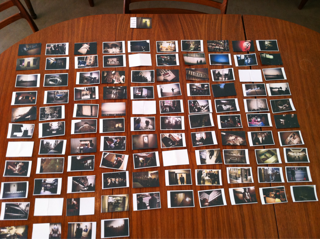 The original Yakuza book edit. Notice the ten images that didn't make it.