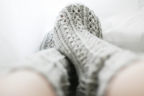 Want to knit some socks some day… gonna add that to my bucket list.