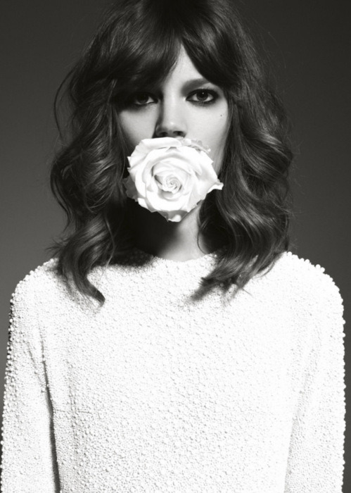 Miss. Freja Beha Erichsen Dedicated to Freja for being THE model of the moment. Twenty tattoos have not dissuaded the fashion industry from picking this HELL of a HOT model for their campaigns: CHANEL, LAGERFlELD, PRADA and many many more.