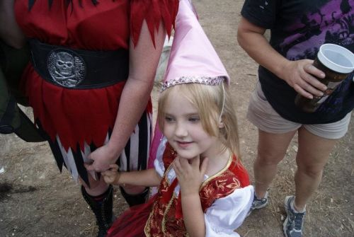 Ren fair with her new hat!