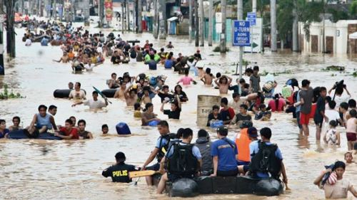 Flash flooding in the Philippines has claimed between 200 and 500 lives so far (depending on which news source you believe). If you think about it, that's homes, schools, workplaces and people just washed away like they never existed. Rest in peace those gone, and to the survivors, my thoughts are with you.  Aid agencies have begun work already to try and save as many people as possible but they need our help. Please think about donating whatever little you can. You may well help to save someone's life. What's a new phone compared to that?