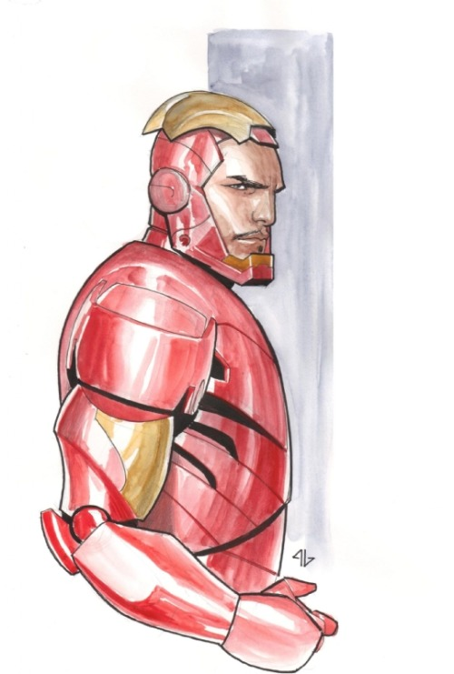 xombiedirge:  Iron Man by Adi Granov