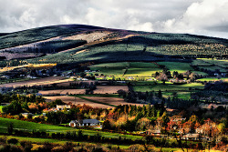 County Wicklow, Ireland. If you ever needed a reason to find photos of the place your ancestors came from , this is it! definitelydope:  This Land (by Michelle in Ireland)  Click on the link to Flickr for a map showing where this photo was taken. http://www.flickr.com/photos/finbarro/2389616291