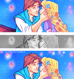 hardcoretangled:  Cool where did ya get the almost kiss one.