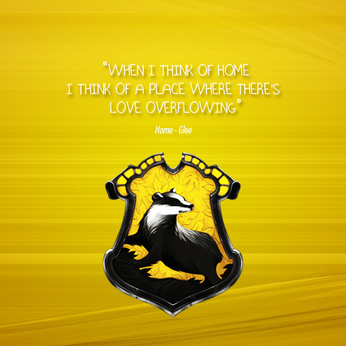 Hufflepuff Home by Glee