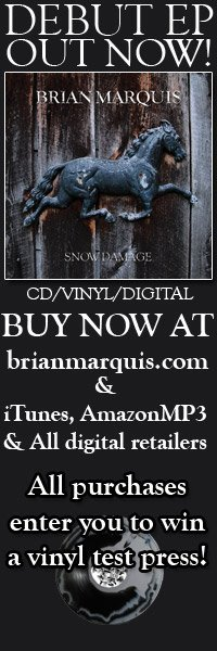 Still have a chance to win a vinyl test press of my ep 'Snow Damage' with any purchase until January 1st when I'll pick a winner at random. cd, vinyl & digital here: http://www.brianmarquis.com